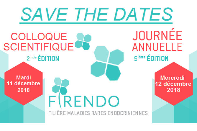 Maia sera en groupe de travail avec FIRENDO (Filière maladies rares endocriniennes) le 12 décembre 2018