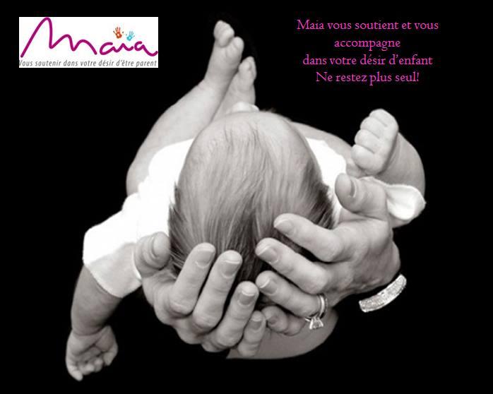 Maia organise une rencontre autour de l'infertilité le samedi 14 septembre 2019 à Paris