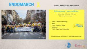 Marche Contre l'Endométriose le samedi 30 Mars 2019