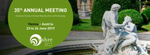 Maia sera à l'ESHRE du 23 au 26 juin 2019 à Vienne @ Vienna, Austria