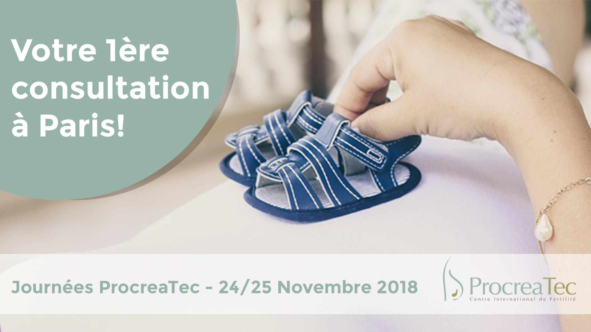 PROCREATEC A PARIS LES 24 ET 25 NOVEMBRE 2018