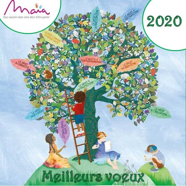 Maia Vous Soutient En 2020: Joyeuses Fêtes!